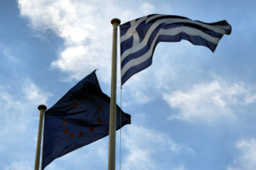Greece European Union Flag