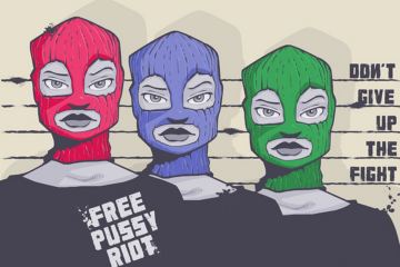 Pussy Riot Drawing