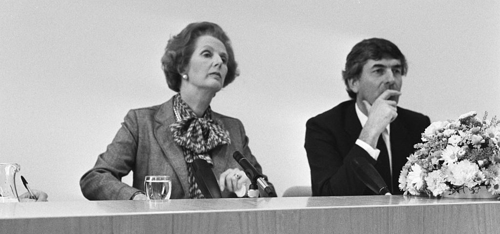 Margaret thatcher maggy ruud lubbers