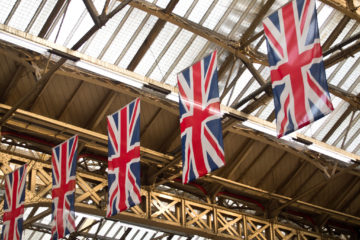 Union Jacks Waterloo Britse vlag